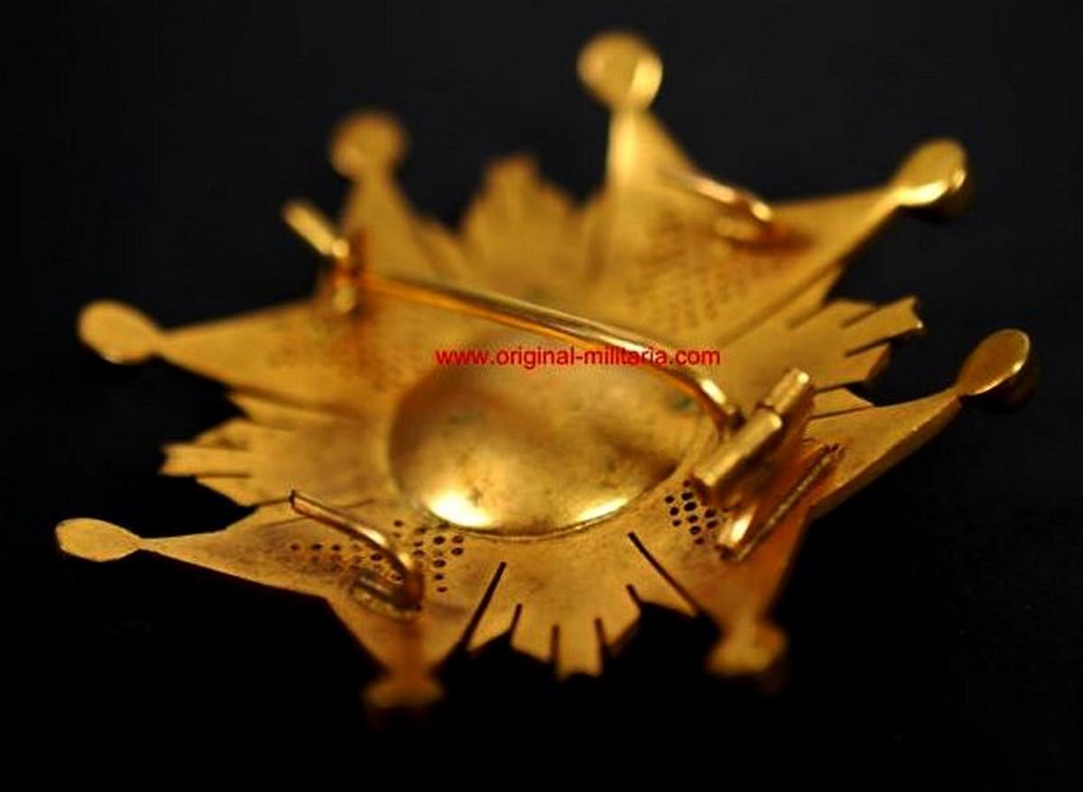Placa de la Real y Militar Orden de San Hermenegildo